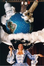 World Hat designed by Steve Silver in 1986; photo by Ron Scherl
