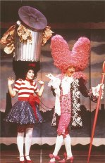 Trash Can Hat and King Louie costume designed by Steve Silver in 1990; photo by Ron Scherl
