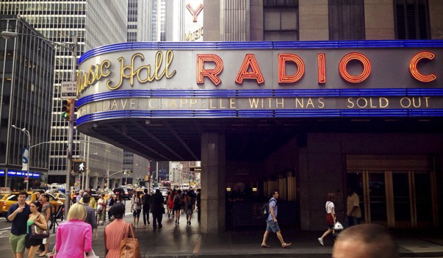 Dave Chappelle sold out the first five shows at his Radio City Music Hall minutes after the tickets became available. So he added more dates, where he would also be joined by musical guests including Nas, The Roots, and Erykah Badu.