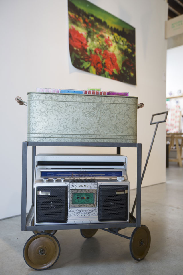 Ala Ebtekar, <i>MIXTAPES: VOL. I & II</i> installation view, 2014