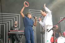 Fitz and the Tantrums perform at BottleRock in Napa, May 26, 2017.