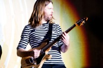 James Valentine of Maroon 5 performs at BottleRock in Napa, May 26, 2017.