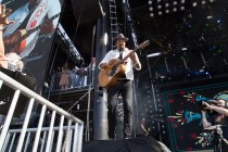 Michael Franti performs at BottleRock in Napa, May 27, 2017.