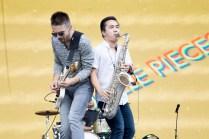 Saint Motel performs at BottleRock in Napa, May 26, 2017.