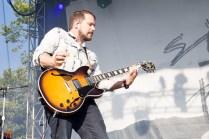 Brian Aubert of Silversun Pickups performs at BottleRock in Napa, May 26, 2017.