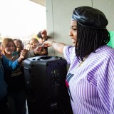 Kamaiyah Surprises Hayward High School with 'Black Panther' Tickets
