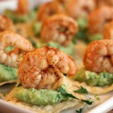 Fast and Simple New Year's Party Recipe: Chili-Lime Shrimp and Guacamole Tostadas