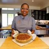 Celebrity Chef Recipes: Tanya Holland's Chocolate Bourbon Pecan Pie