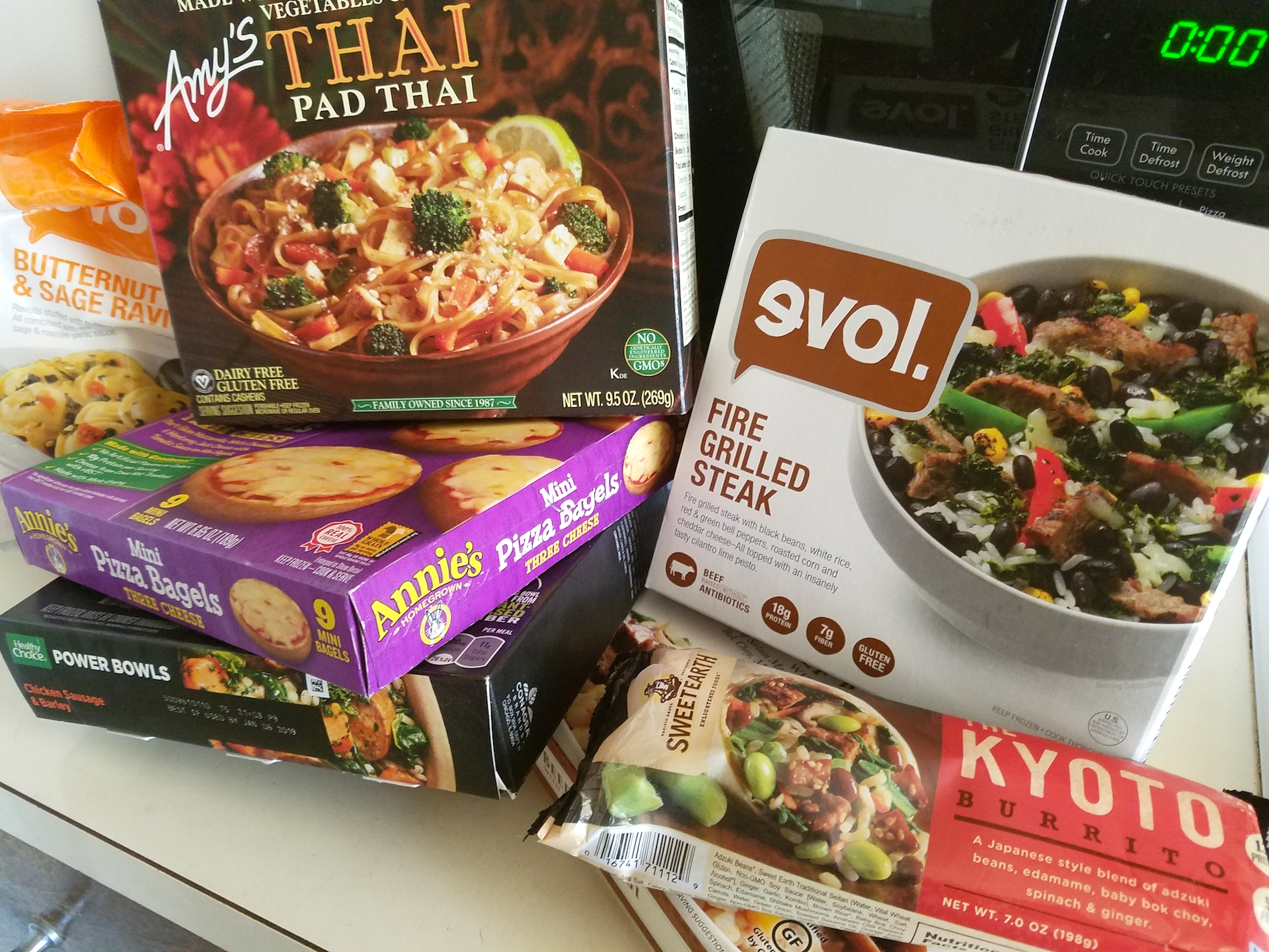 guide five frozen meals that are