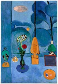 "Henri Matisse, ""The Blue Window,"" 1913; oil on canvas; The Museum of Modern Art."