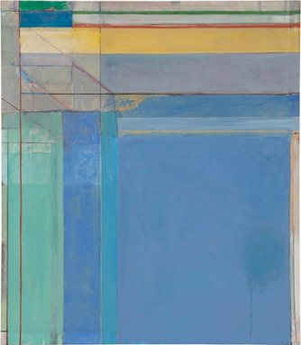 "Richard Diebenkorn, ""Ocean Park #79,"" 1975; oil on canvas; Philadelphia Museum of Art."