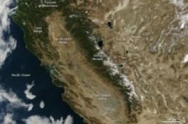 NASA satellite image from Jan. 18, 2014.