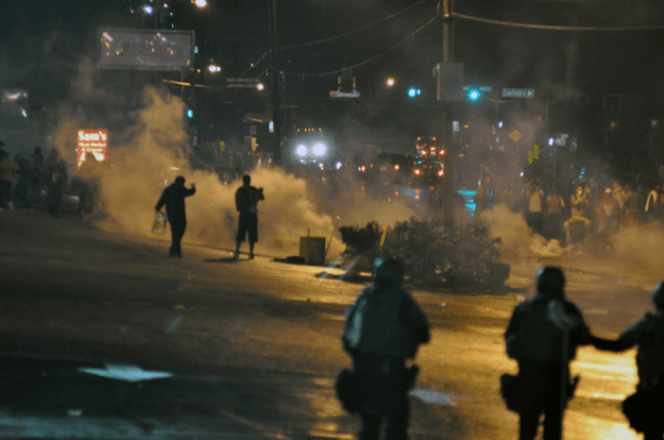 Day six of protests in Ferguson (Loavesofbread/Wikimedia)