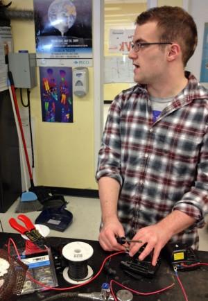 An SLA senior explains how he got interested in robotics during his senior engineering seminar.