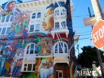 A mural on The Women's Building. (torbakhopper/Flickr)