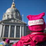 PHOTOS: Pussy Hats and Protest Signs Fill Streets at Bay Area Women's Marches