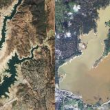 Before and After: The Rain's Impact on Three California Reservoirs