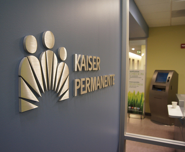 Kaiser Permanente's lower rates on the California health exchange for 2015 may be meant to attract customers. (Ted Eytan/Flickr)