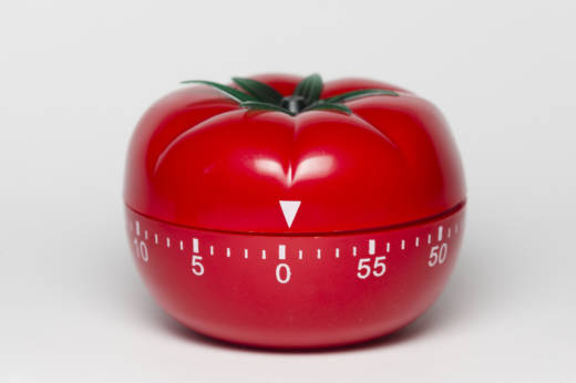 Pomodoro, timer, ajastin, tehokkuus, efficiency