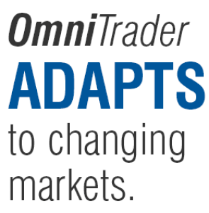OmniTrader includes over 90 market trading strategies OmniTrader adapts to changing market conditions everyday