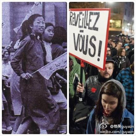 protests separated by a century  相隔一世紀的學潮