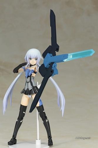 买妹子送光盘, FRAME ARMS GIRL 动画 BD 前两卷限定版附送轰雷、短剑公开