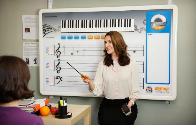 NAMM 2015: Hi-Tech Music Theory Teaching Tool