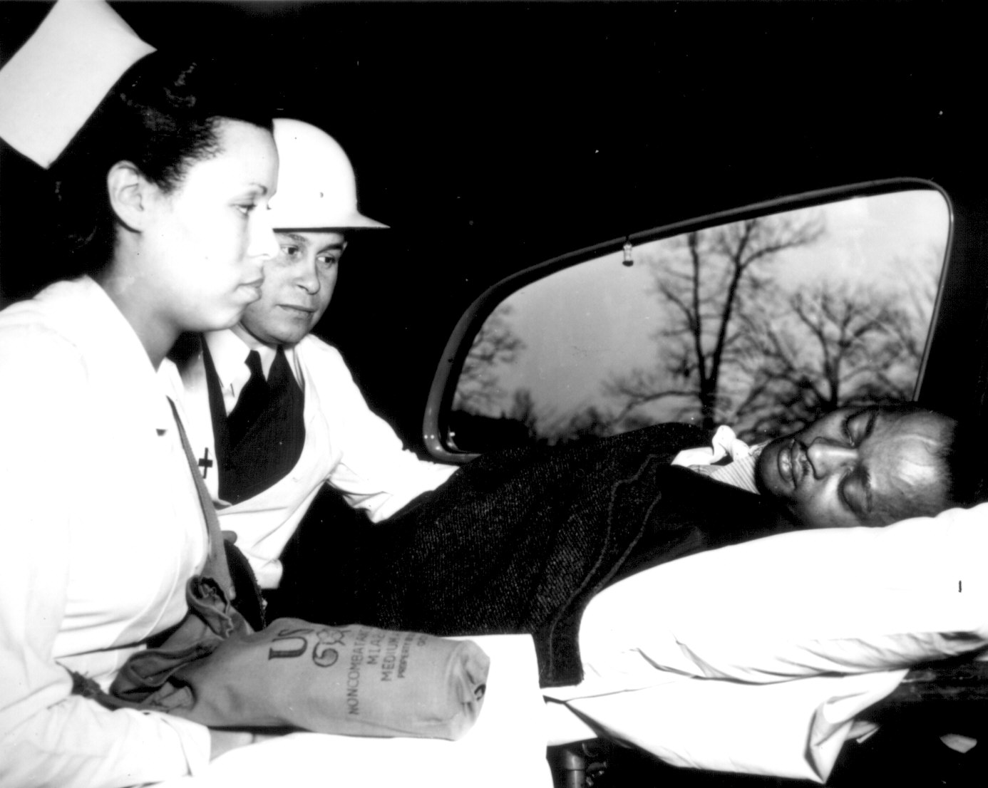 Photo Dr Charles Drew Of The Medical Corps Of The