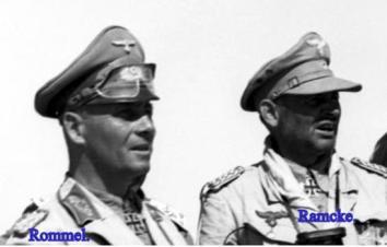 Ramcke, Hermann Bernard - WW2 Gravestone