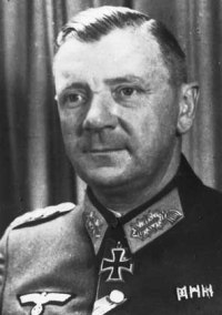 General Wilhelm Burgdorf, Chief of Army Personnel Branch (Chef der HPA) and Chief Adjutant of the Wehrmacht. (From Hitler photographer Heinrich Hoffmann´s album).