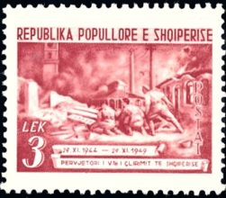 Albanie 415 combat de rue