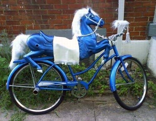 Carousel Horse Bike