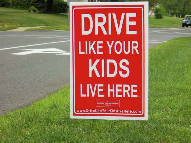 Image result for images of sign, drive as if your kids live here
