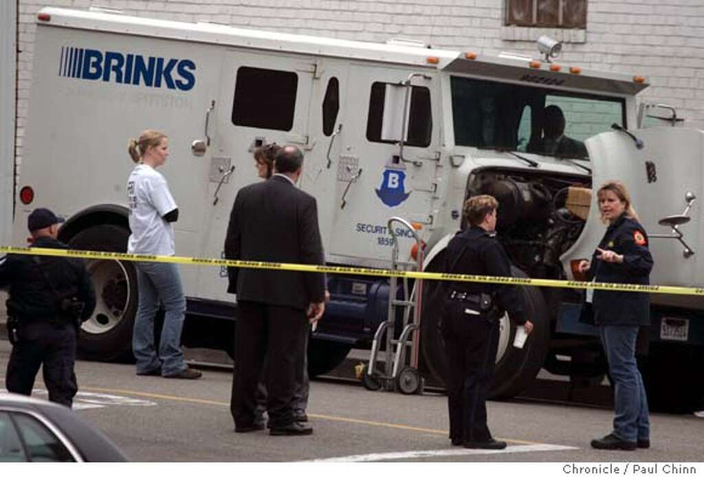 Image result for getty's picture Brinks messenger robbed at gunpoint on Harvard Avenue