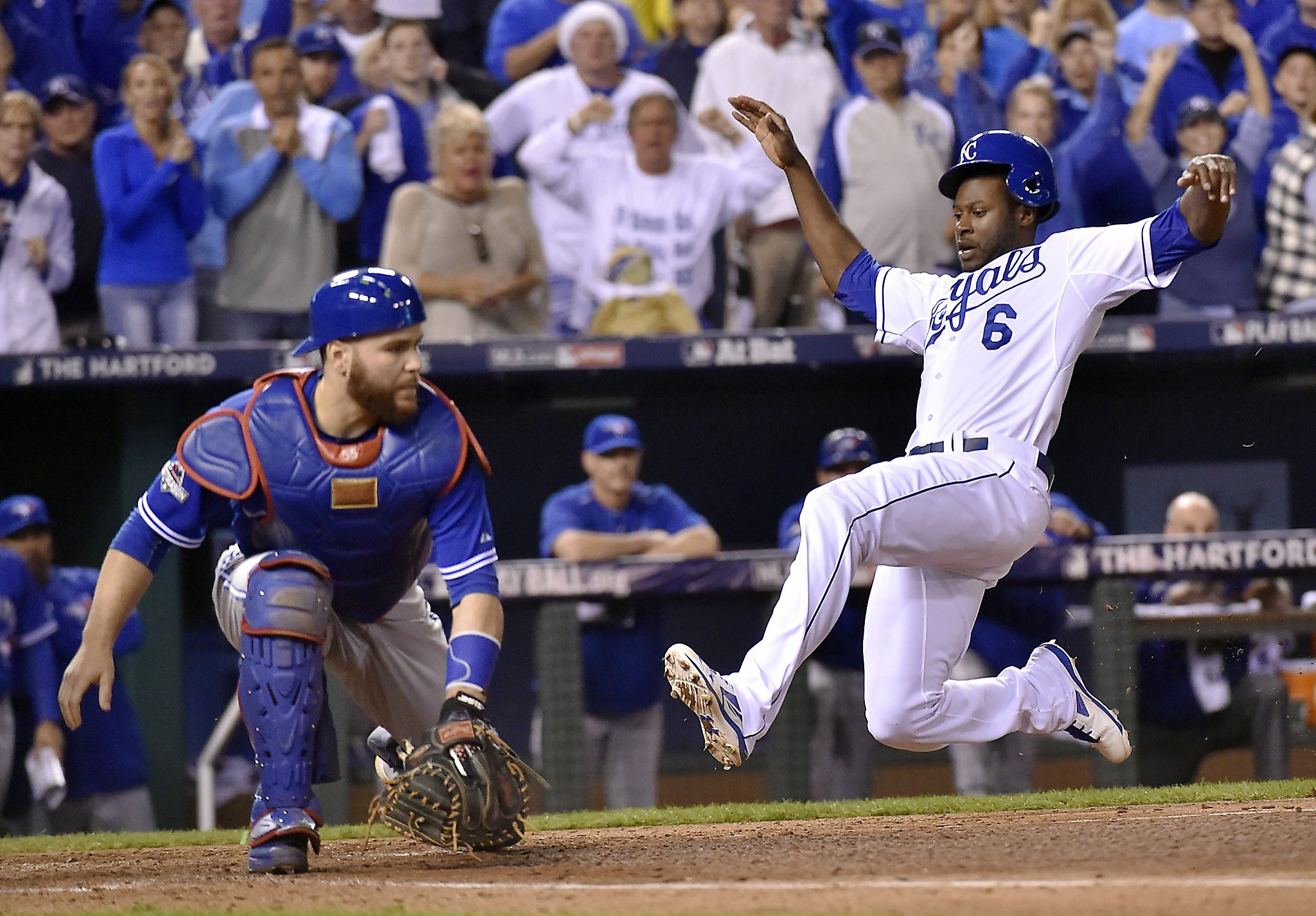 Image result for 2015 alcs game 6 cain scores