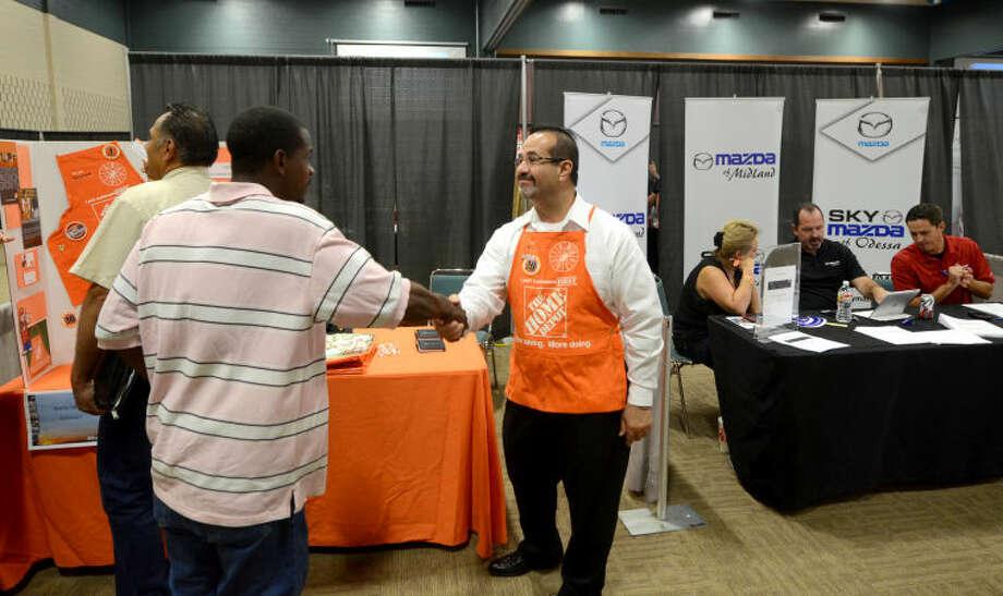 Job Seekers At UTPB Job Fair Optimistic, But Keeping