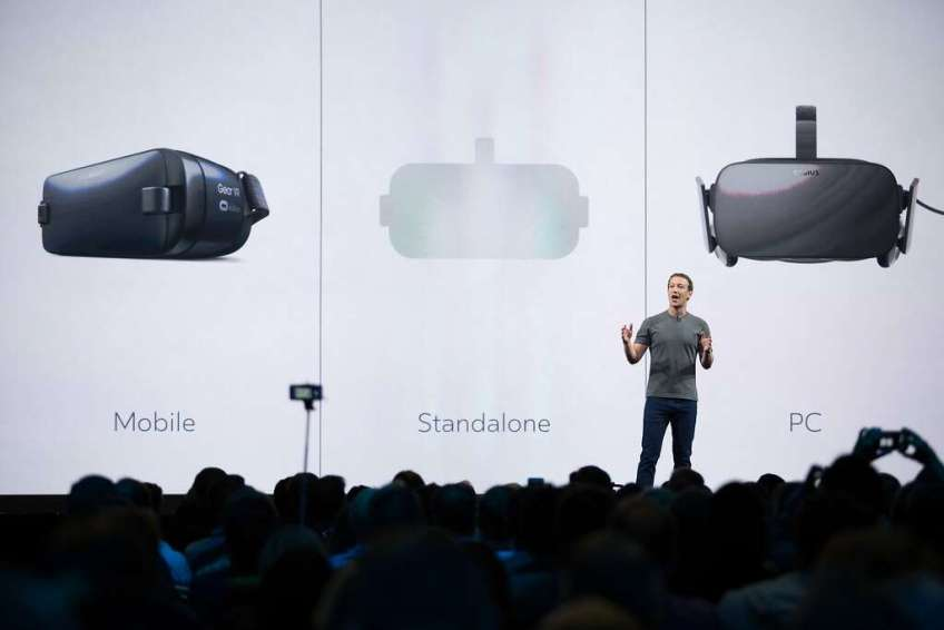 Zuckerberg denies stealing Oculus technology to create VR experience