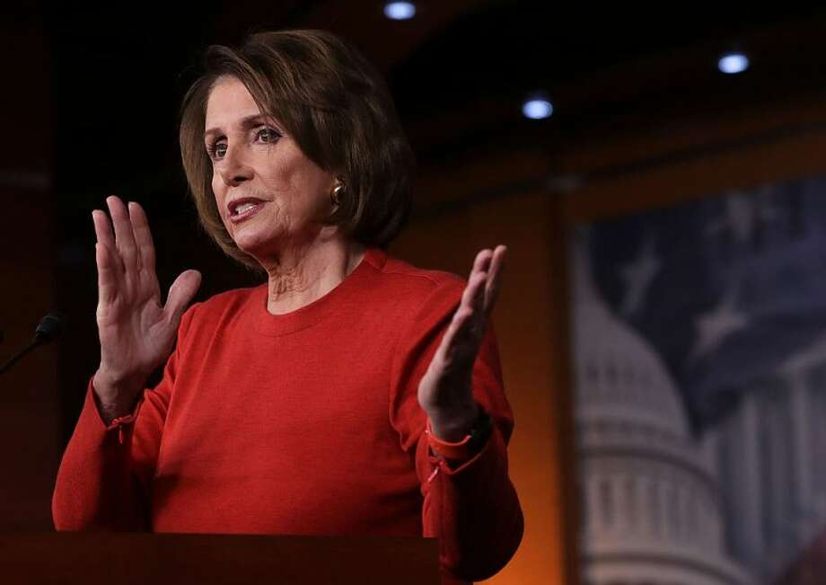 U.S. House Minority Leader Nancy Pelosi delivers sharp criticism of the Bannon appointment.