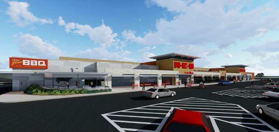 H-E-B plans to open a new 118,000-square-foot store in August at Bulverde  Marketplace, a retail center being developed by local firm Fulcrum Development  on the southwest corner of Loop 1604 and Bulverde Road. Photo: Courtesy / H-E-B