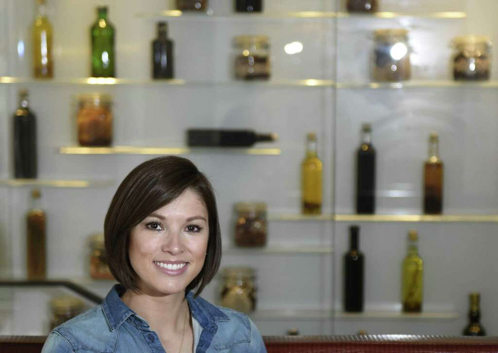 Greenwich resident Gabriella Burke poses at J House Greenwich in the Riverside section of Greenwich, Conn. Wednesday, April 12, 2017. Burke is a personal chef, meal planner and food blogger for her newly-opened business, The Gourmet Cocina. Photo: Tyler Sizemore / Hearst Connecticut Media / Greenwich Time