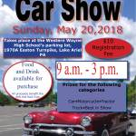 4th Annual Hot Rod Club CAR SHOW – May 20th