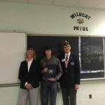 Western Wayne Freshman Wins American Legion Patriotism Essay Contest
