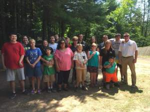Western Wayne Administrative Team provided lunch at Dyberry Day Camp