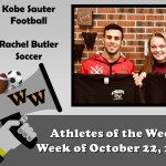 Athletes of the Week for October 22, 2018