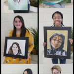 High School Recognizes Fall Art Students of the Month
