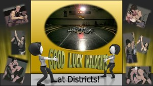 Wrestling Districts (Individual) at Hazelton Area High School 2/22 & 2/23.