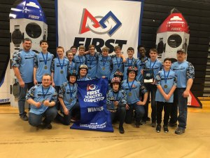 Western Wayne Become District Event Winners at FIRST Robotics Competition