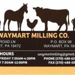 PROM SPONSOR – Waymart Milling Co.
