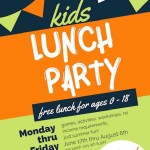 Free Summer Lunch Program @The Cooperage Starts June 17th