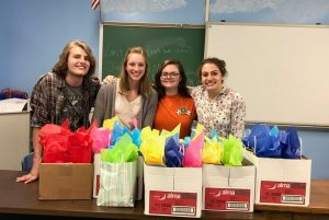 Western Wayne Girls Lead Club Raises Funds for Victims Intervention